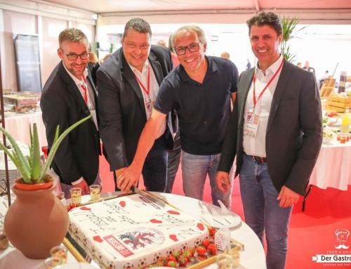 Der Gastropate hat das Catering im VIP-Zelt des FC Gießen übernommen!